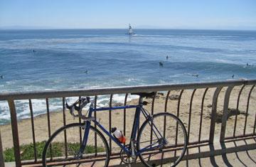 Santa Cruz Surfing at the Lighthouse