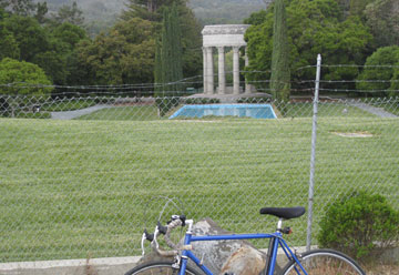 Pulgas Water Temple on Canada Road. Open weekdays.