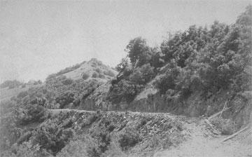 Mt. Hamilton Road when built. Bring your mountain bike.