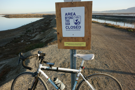 Our San Francisco Bay National Wildlife Refuge is closed from the Federal shutdown.