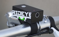 Rideye's black box video recorder is built to last.
