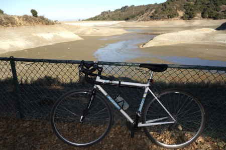 Maybe we don't get drinking water from Stevens Creek Reservoir, but it tells the story. Mega-drought.