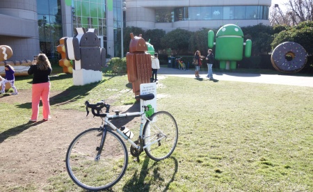 Google campus. Picture taking encouraged.