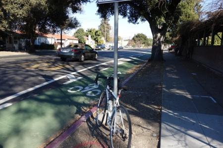 Hedding Street bike lanes are a symptom of class warfare. I think they're just fine.