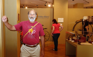 Terry Shaw put his considerable knowledge of cycling history to good use.