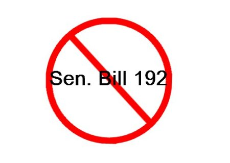 Sen. Bill 192 takes away personal choice.