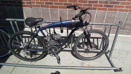 A motor-bike literally.