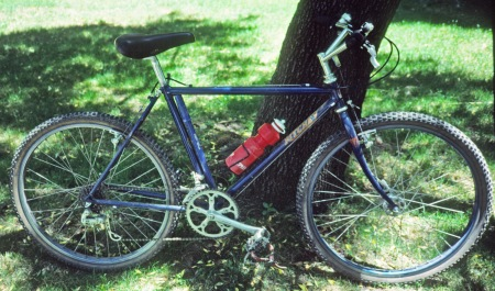Only known photo of my Ritchey mountain bike in 1985.