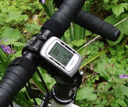 Garmin 500 uses GPS to record your ride with amazing accuracy.