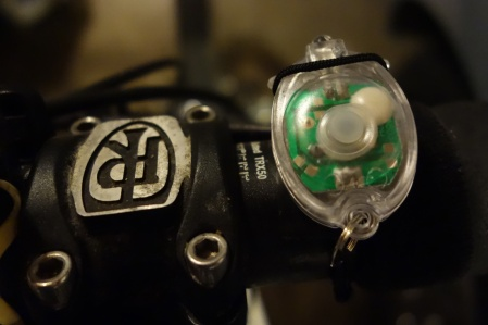 Is there a smaller bike light? From Kikkerland.