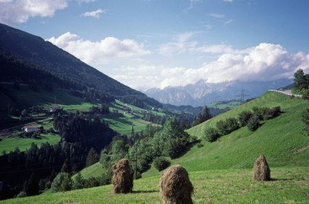Near Hall Tirol, Austria.