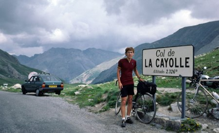 Cayolle Pass summit.