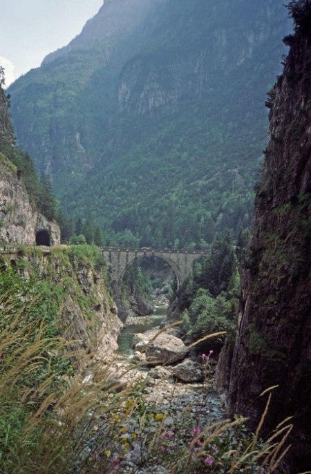 Cordevole River.