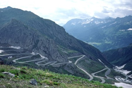 Old St. Gotthard Pass.