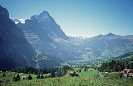 Grindelwald on a nice day.