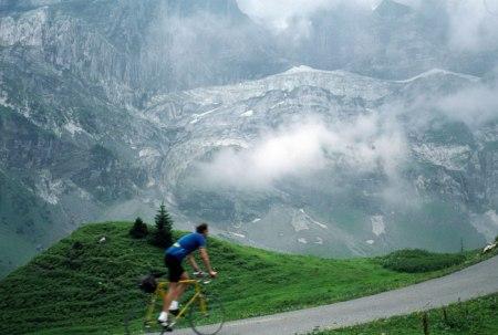 Schwarzwaldalp Glacier near Grindelwald.
