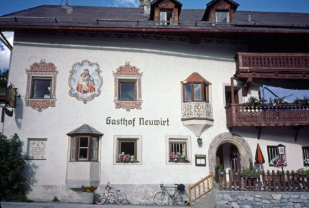 Guest house in Austria.