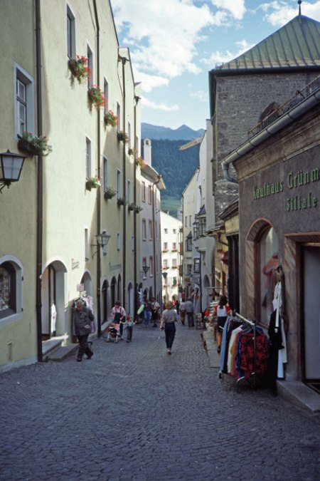 Hall Tirol town center