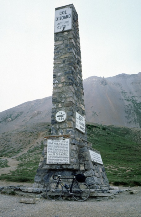 Izoard summit.