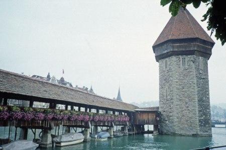 Luzern covered bridge.