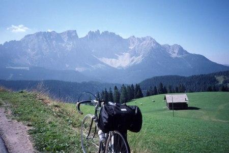 Marmolada mountains.