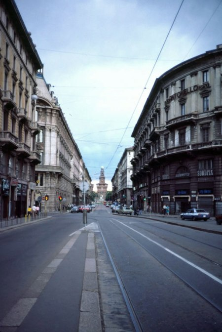 Downtown Milan