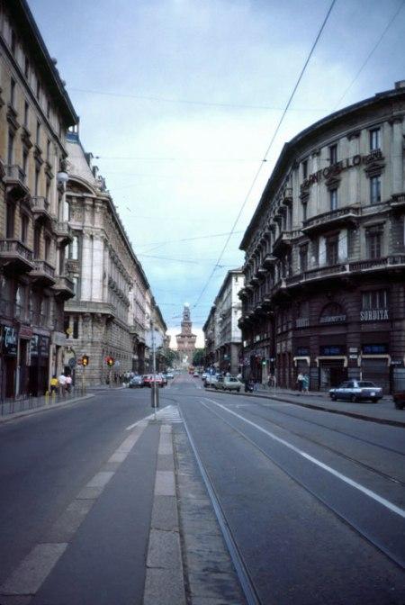Downtown Milan