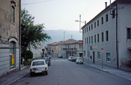 Town of Quero on way to Venice.