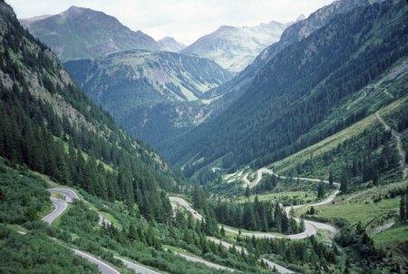 Silvrette Pass, Austria.