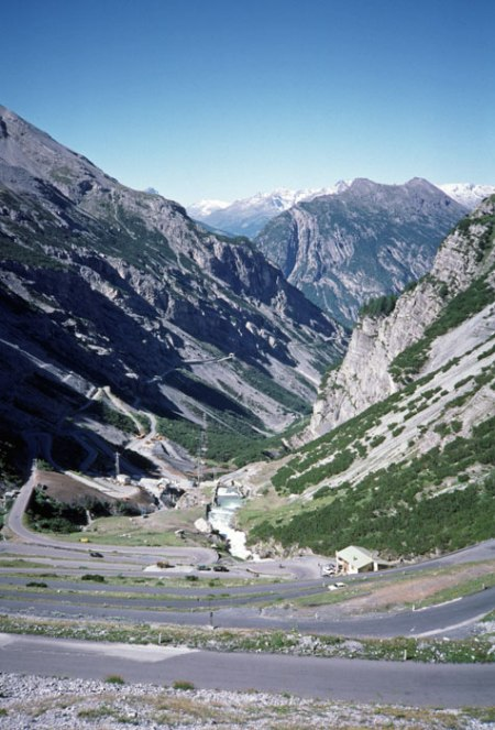Stelvio Pass to Bormio.