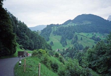 Sattelegg Pass, Switzerland.