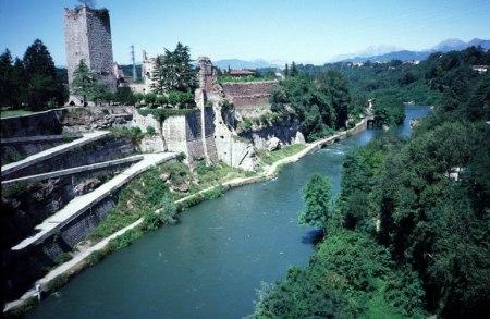 Trezzo on the Adda River.