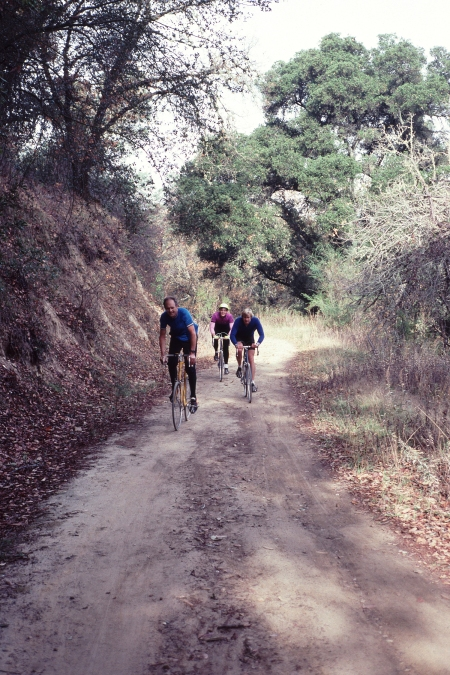 Alpine Road from Portola Valley to Skyline used to be a nice ride. I'll never forget.