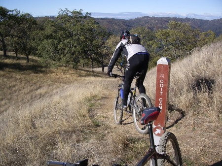 Henry Coe is one of the best state parks for wild and scenic riding.