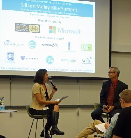Shiloh Ballard, SVBC director, interviews Dave Snyder, Calbike.
