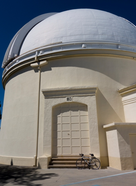 Lick Observatory, built around 1875, backside.